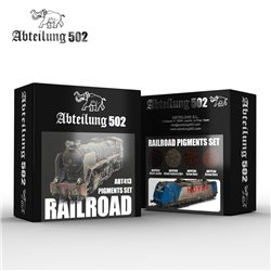 ABTEILUNG 502 ABT413 RAILROAD PIGMENTS SET