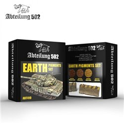ABTEILUNG 502 ABT410 EARTH PIGMENTS SET