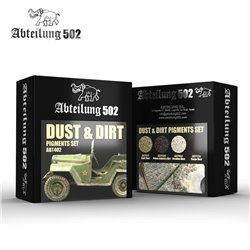 ABTEILUNG 502 ABT402 DUST & DIRT PIGMENTS SET