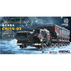 MENG MMS-001 1/100 The Wandering Earth Cargo Truck-Transport Truck CN114-03