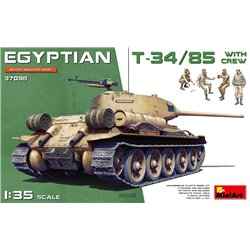 MINIART 37098 1/35 Egyptian T-34/85 with crew