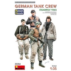 MINIART 35354 1/35 German Tank Crew Kharkov 1943