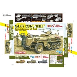 "DRAGON 6911 /135 Sd.Kfz.250/3 ""Greif"""