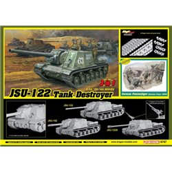 DRAGON 6787 1/35 JSU-122 vs Panzerjäger