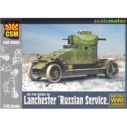"COPPER STATE MODEL 35003 1/35 Lanchester ""Russian Service"""