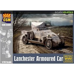COPPER STATE MODEL 35001 1/35 Lanchester Armoured Car