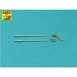 "ABER 35 L-317 1/35 317 Set of barrels for BMPT Object 199 ""Ramka"" & Terminator 2 x 2A45 mm, 2 x AGS-17 30 mm"