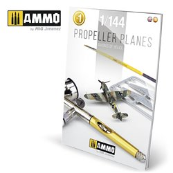 AMMO BY MIG A.MIG-6144 PROPELLER PLANES 1/144 VOL. 1 (English & Spanish)