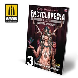 AMMO BY MIG A.MIG-6223 Encyclopedia of Figures Modelling Techniques Vol. 3 – Modelling, Genres and Special Techniques (English)