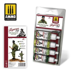 AMMO BY MIG A.MIG-7034 US VIETNAM UNIFORMS SET