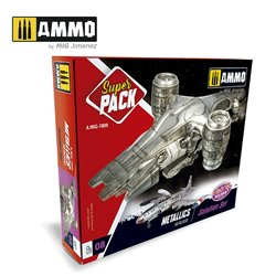 AMMO BY MIG A.MIG-7809 SUPER PACK METALLICS