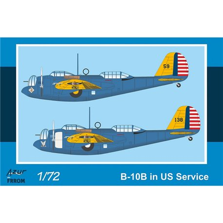 AZUR BY FRROM FR0044 1/72 B-10B in US Service