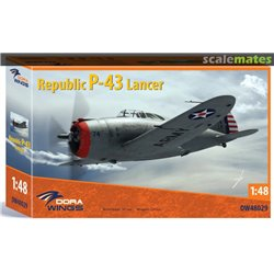 DORA WINGS DW48029 1/48 Republic P-43 Lancer
