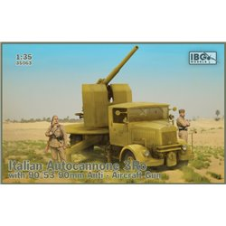 IBG MODELS 35063 1/35 Autocannone 3RO with 90/53 Anti Aircraft Gun