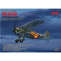 ICM 32021BE 1/32 CR.42 LW with Belgian Decals