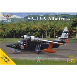 "SOVA-M 72024 1/72 SA-16A ""Albatross"" flying boat (reg No: PP-ZAT), Limited Edition"