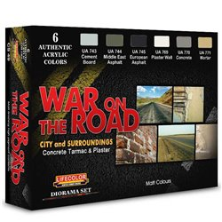 LIFECOLOR CS49 War on the Road Set