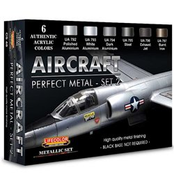 LIFECOLOR CS48 Aircraft Perfect Metal Set 2