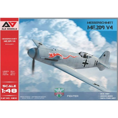 A&A MODELS 4810 1/48 Me.209 V-04 high-speed experimental prototype