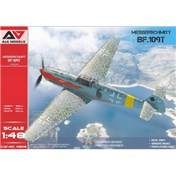A&A MODELS 4806 1/48 Bf-109T1/T2 Carrier-based fighter-bomber