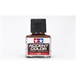 TAMIYA 87210 Accent Color Deep Brown 40ml