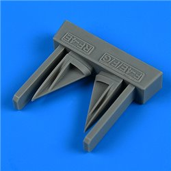 QUICKBOOST QB32264 1/32 F-4E/F/G RF-4E Phantom II vertical tail air inlet for Revell