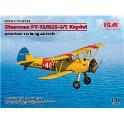 ICM 32052 1/32 Stearman PT-13/N2S-2/5 Kaydet, American Training Aircraft