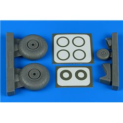 AIRES 4831 1/48 Do 17Z/Do 215 wheels & paint masks for ICM