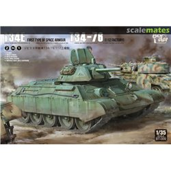 BORDER MODEL BT-009 1/35 T-34E (First Type of Spaced Armour) T-34/76 (112 factory)