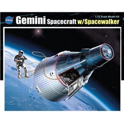 DRAGON 11013 1/72 Gemini Spacecraft w/Spacewalker