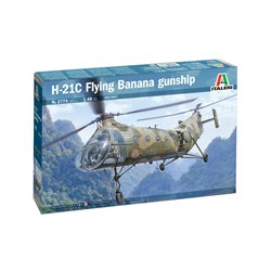 "ITALERI 2774 1/48 H-21C ""Flying Banana"" Gunship"