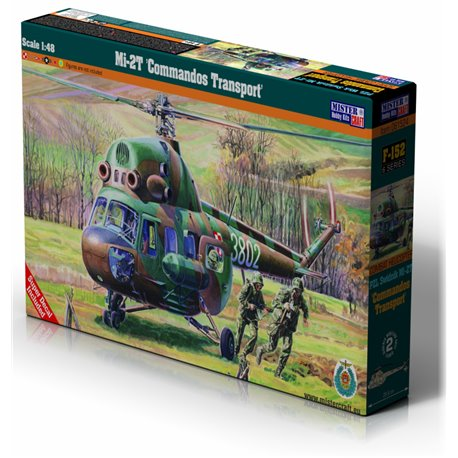 MISTERCRAFT F-152 1/48 Mi-2T Commandos Transport