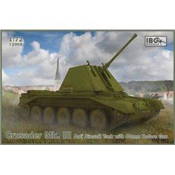 IBG MODELS 72069 1/72 Crusader Mk. III Anti Aircraft Tank with 40mm Bofors Gun
