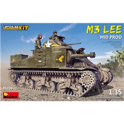 MINIART 35209 1/35 M3 Lee Mid. Production Interior Kit