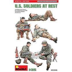 MINIART 35318 1/35 Soldiers at Rest Special Edition