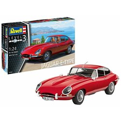 REVELL 07668 1/24 Jaguar E-Type (Coupé)