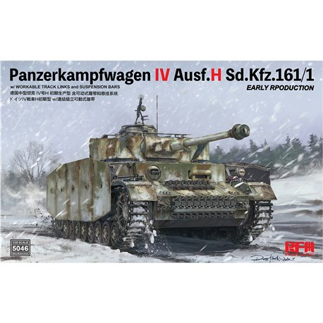 RYE FIELD MODEL RM-5046 1/35 Pz.Kpfw.IV Ausf.H Sd.Kfz.161/1 Early Production