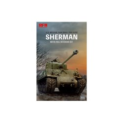 RYE FIELD MODEL RM-5042 1/35 M4A3 76W HVSS Sherman