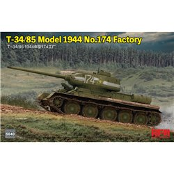 RYE FIELD MODEL RM-5040 1/35 T-34/85 Model 1944 No.174 Factory