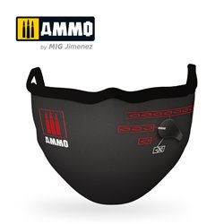 "AMMO BY MIG A.MIG-8071 AMMO FACE MASK ""Switch Mask"""