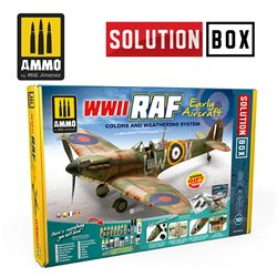 AMMO BY MIG A.MIG-7722 WWII RAF Early Aircraft Solution Box