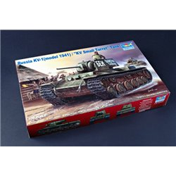 TRUMPETER 00356 1/35 Soviet KV-1 (model 1941) / KV Small Turret Tank