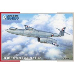 SPECIAL HOBBY SH72424 1/72 Gloster Meteor F.8 Prone Pilot