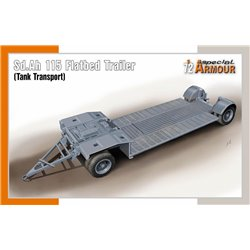 SPECIAL ARMOUR SA72022 1/72 Sd.Ah 115 Flatbed Trailer (Tank Transport)