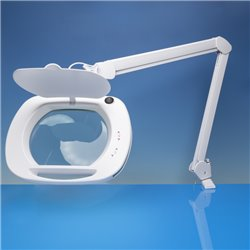 LIGHTCRAFT LC9100LED Wide Lens LED Magnifier Lamp with Dual