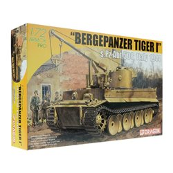 DRAGON 7210 1/72 Bergepanzer Tiger I w/Zimmerit