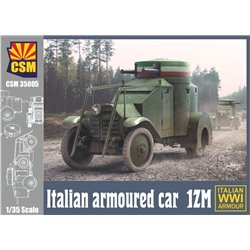 COPPER STATE MODEL 35005 1/35 Italian Armoured Car 1ZM