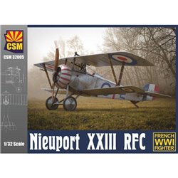 COPPER STATE MODEL 32005 1/32 Nieuport XXIII RFC Service