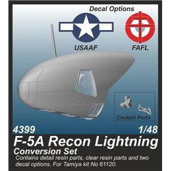 CMK 4399 1/48 F-5A Recon Lightning Conversion Set