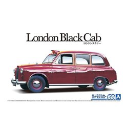 AOSHIMA 05487 1/24 FX-4 London Black Cab '68